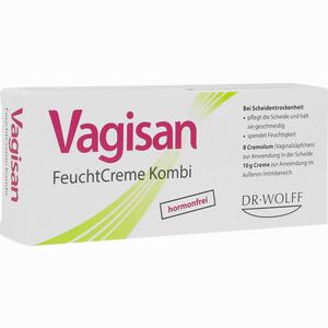 Abbildung von Vagisan Feuchtcreme Kombi 8 Ovula + 10g Creme Kombipackung 1 Packung