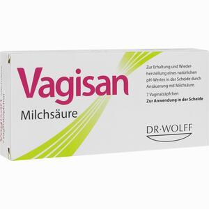 Abbildung von Vagisan Milchsäure Vaginalzäpfchen  7 Stück