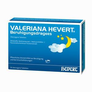 Abbildung von Valeriana Hevert Beruhigungsdragees  50 Stück
