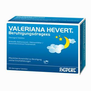 Abbildung von Valeriana Hevert Beruhigungsdragees  100 Stück