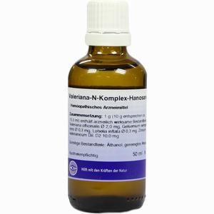 Abbildung von Valeriana- N- Komplex- Hanosan Fluid 50 ml