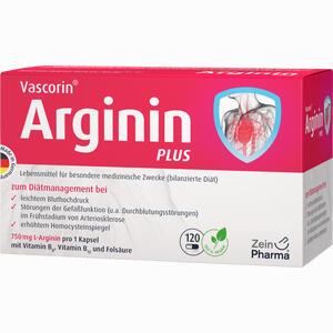 Abbildung von Vascorin Arginin Plus Kapseln  120 Stück