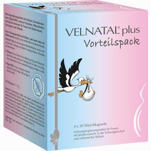 Abbildung von Velnatal Plus Vorteilspack Kapseln 4 x 30 Stück