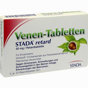 Abbildung von Venen- Tabletten Stada Retard Retardtabletten 20 Stück