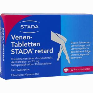 Abbildung von Venen- Tabletten Stada Retard Retardtabletten 50 Stück