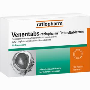 Abbildung von Venentabs- Ratiopharm Retardtabletten  100 Stück