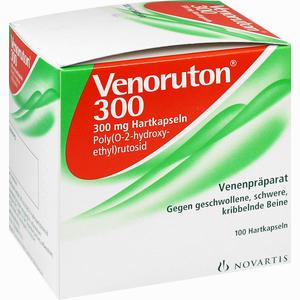 Abbildung von Venoruton 300mg Hartkapseln  100 Stück