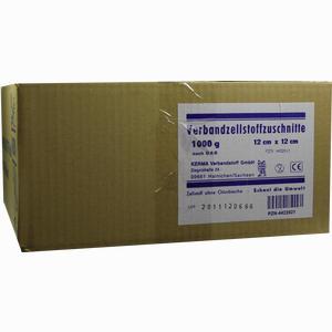 Abbildung von Verbandzellstoff Zuschnitte 9x9 Cm Hgbl Kerma verbandstoff 1000 g