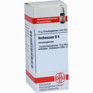 Abbildung von Verbascum D4 Globuli 10 g