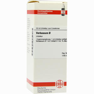 Abbildung von Verbascum Urtinktur Dilution 50 ml