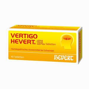 Abbildung von Vertigo Hevert Sl Tabletten 40 Stück