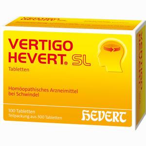 Abbildung von Vertigo Hevert Sl Tabletten 300 Stück