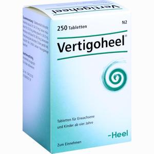 Abbildung von Vertigoheel Tabletten 250 Stück