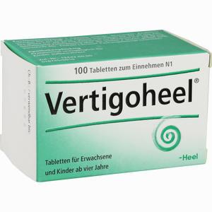 Abbildung von Vertigoheel Tabletten 100 Stück
