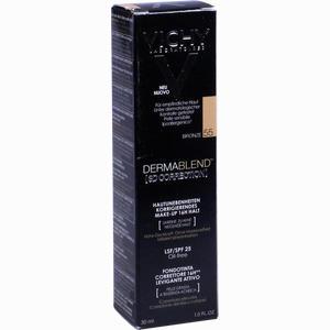 Abbildung von Vichy Dermablend 3d- Correction Foundation Make- Up- Fluid 55 Bronze 30 ml