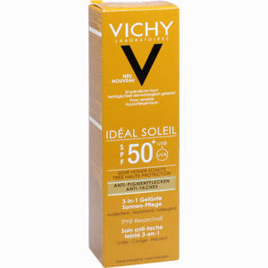Abbildung von Vichy Ideal Soleil Anti Pigmentflecken Lsf 50+ Creme 50 ml