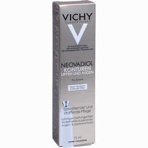 Abbildung von Vichy Neovadiol Gf Straffende Pflege für Lippen- und Augenkonturen Creme 15 ml