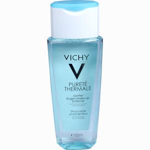 Abbildung von Vichy Purete Thermale Beruhigender Augen- Make- Up- Entferner Fluid 150 ml