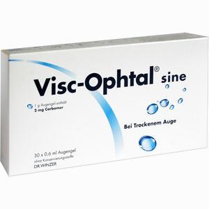 Abbildung von Visc Ophtal Sine Augengel 30 x 0.6 ml