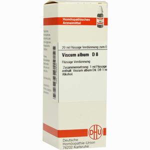 Abbildung von Viscum Album D8 Dilution 20 ml