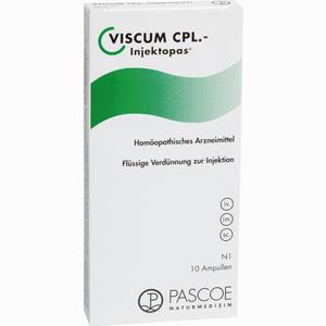 Abbildung von Viscum Cpl- Injektopas Ampullen  10 x 2 ml