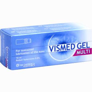 Abbildung von Vismed Gel Multi Augentropfen  10 ml