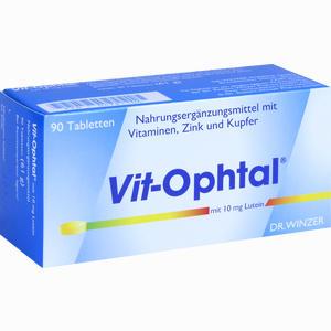 Abbildung von Vit- Ophtal mit 10 Mg Lutein Tabletten 90 Stück