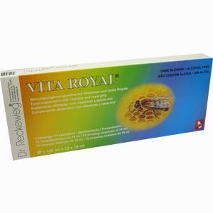 Abbildung von Vita Royal Trinkfläschchen Trinkampullen 12 x 10 ml