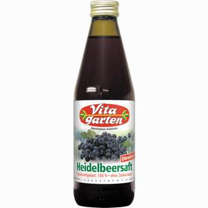 Abbildung von Vitagarten Heidelbeersaft  330 ml