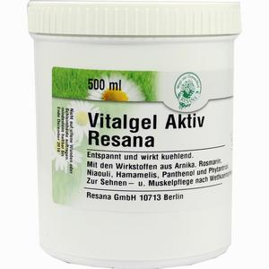 Abbildung von Vitalgel Aktiv Resana Gel 500 ml
