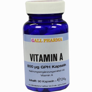 Abbildung von Vitamin A 800ug Gph Kapseln  90 Stück