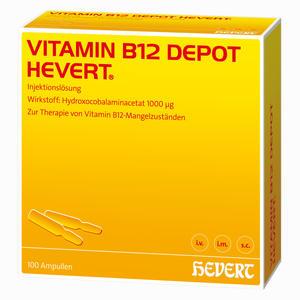 Abbildung von Vitamin B 12 Depot Hevert Ampullen 100 Stück