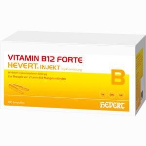 Abbildung von Vitamin B 12 Hevert Forte Injekt Ampullen 100x2 ml