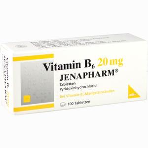 Abbildung von Vitamin B 6 20mg Jenapharm Tabletten 100 Stück
