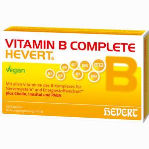 Abbildung von Vitamin B Complete Hevert Kapseln 60 Stück