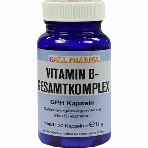 Abbildung von Vitamin B- Gesamtkomplex Gph Kapseln  30 Stück