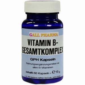 Abbildung von Vitamin B- Gesamtkomplex Kapseln  60 Stück