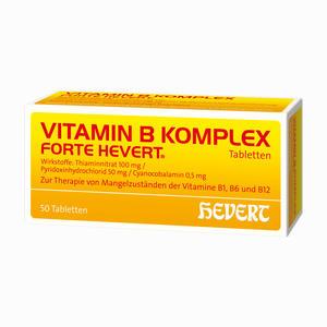 Abbildung von Vitamin B- Komplex Forte Hevert Tabletten 50 Stück