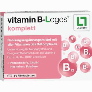 Abbildung von Vitamin B- Loges Komplett Filmtabletten 60 Stück