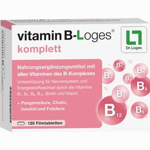 Abbildung von Vitamin B- Loges Komplett Filmtabletten 120 Stück