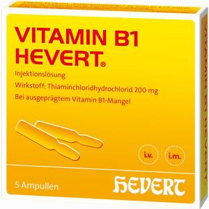 Abbildung von Vitamin B1 Hevert Ampullen 5 Stück