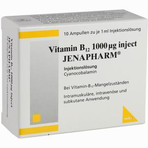 Abbildung von Vitamin B12 1000ug Inject Jenapharm Ampullen 10 x 1 ml