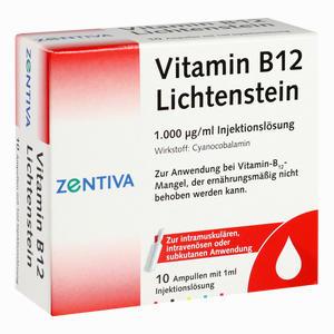 Abbildung von Vitamin B12 1000ug Lichtenstein Ampullen 10 x 1 ml