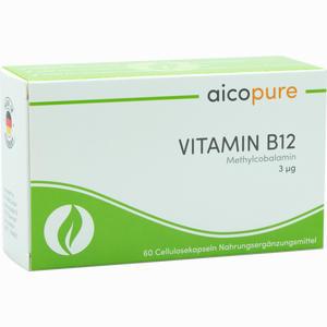 Abbildung von Vitamin B12 3 µg Kapseln 60 Stück