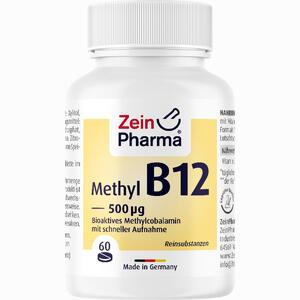 Abbildung von Vitamin B12 500ug - Methylcobalamin Lutschtabletten 60 Stück