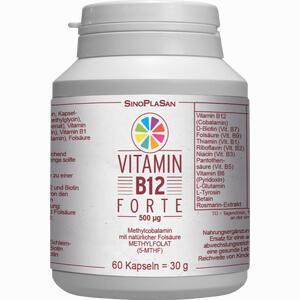 Abbildung von Vitamin B12 Forte 500 Ug Methylcobalamin Kapseln 60 Stück