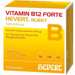 Abbildung von Vitamin B12 Forte Hevert Injekt Ampullen 20 x 2 ml