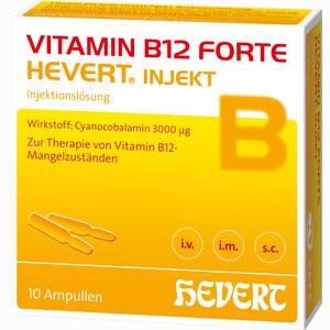Abbildung von Vitamin B12 Forte Hevert Injekt Ampullen 10 x 2 ml