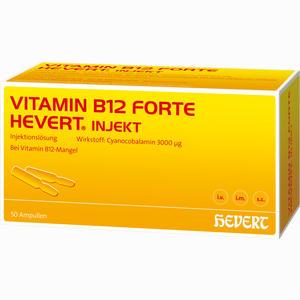 Abbildung von Vitamin B12 Forte Hevert Injekt Ampullen 50 x 2 ml