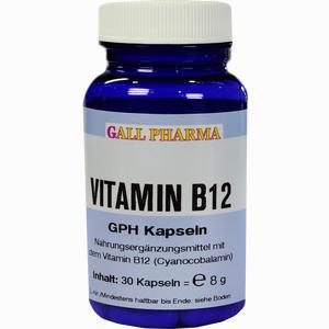 Abbildung von Vitamin B12 Gph 3ug Kapseln 30 Stück